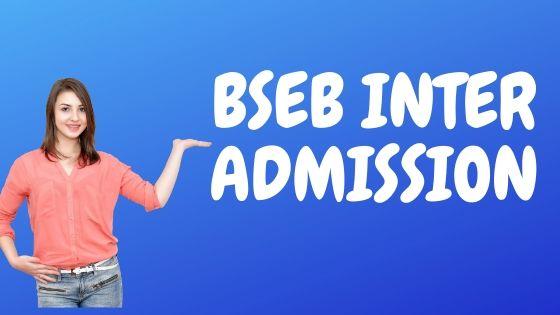 BSEB INTER ADMISSION
