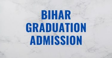 Bihar Board Graduation Admission