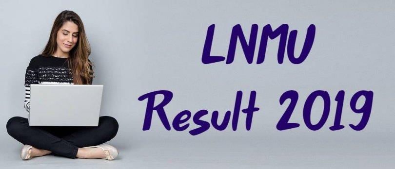 LNMU Result 2019