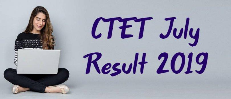 CTET July Result 2019