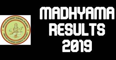 Madhyama Results 2019