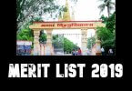 Magadh University (MU) UG Admission 1st Merit List 2019