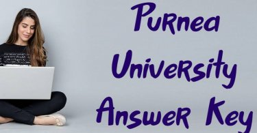 Purnea University Answer Key