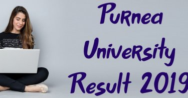 Purnea University Result 2019