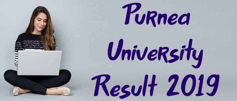 Purnea University Result 2019