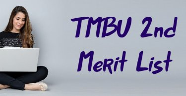 TMBU 2nd Merit List