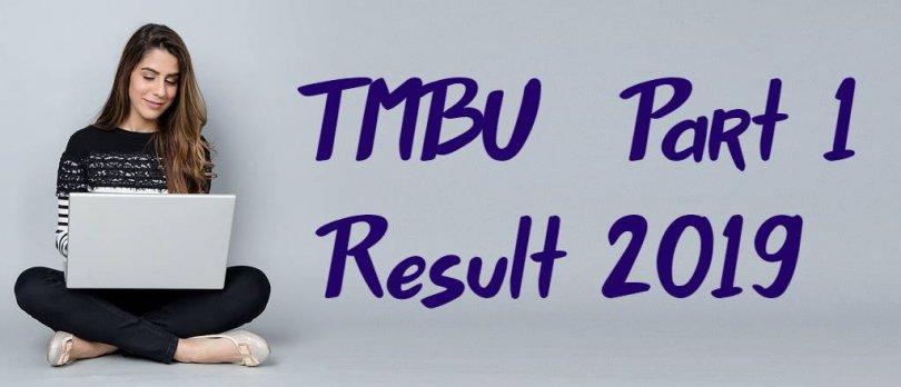 TMBU Part 1 Result 2019