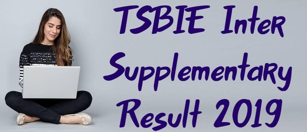 TSBIE Inter Supplementary Result 2019 Download