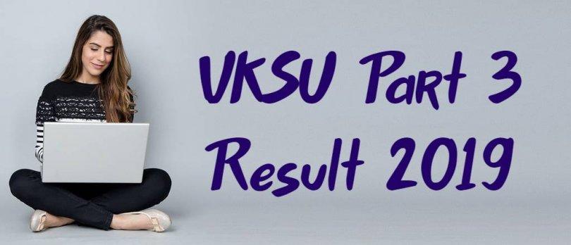 VKSU Part 3 Result 2019