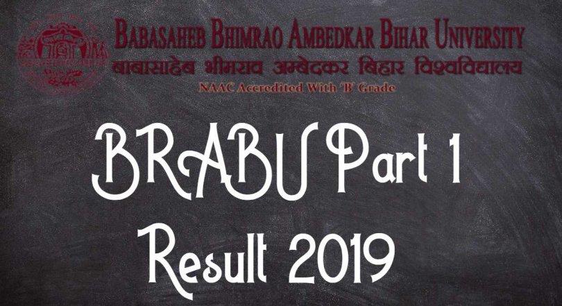 BRABU Part 1 Result 2019