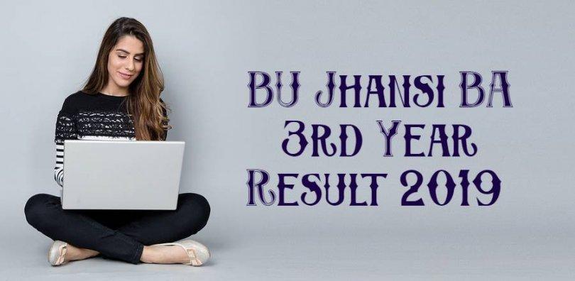 BU Jhansi BA 3rd Year Result 2019