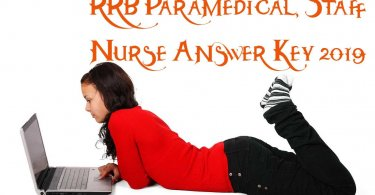 RRB Paramedical, Staff Nurse Answer Key 2019