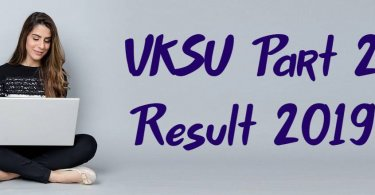 VKSU 2nd Year Result