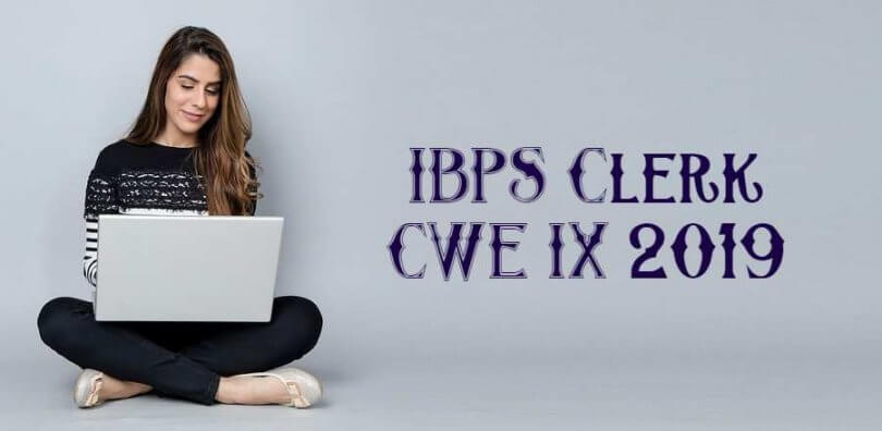 IBPS Clerk CWE IX