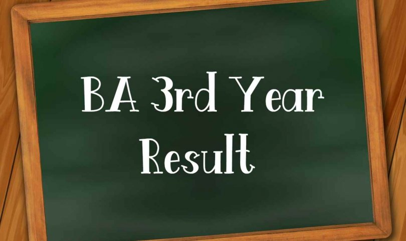 BA 3rd Year Result