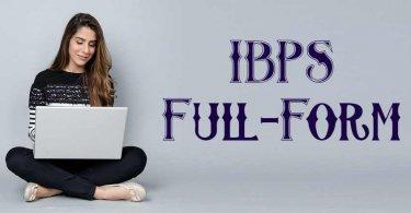 IBPS Full-Form