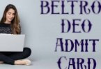 BELTRON DEO Admit Card