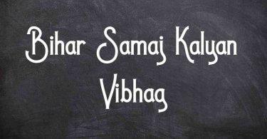 Bihar Samaj Kalyan Vibhag