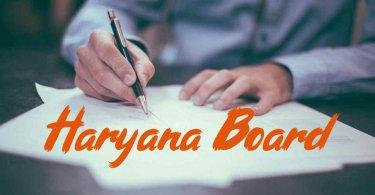 Haryana Board