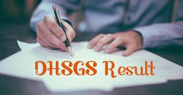 DHSGS result
