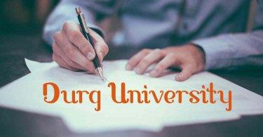 Durg University