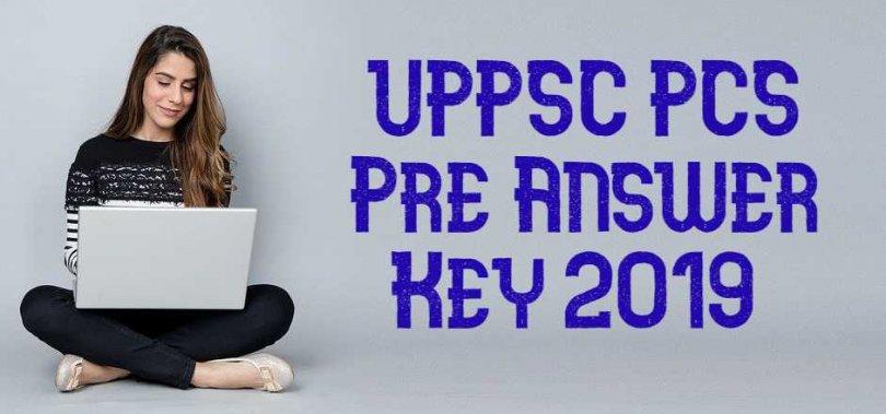 UPPSC PCS Pre Answer Key 2019