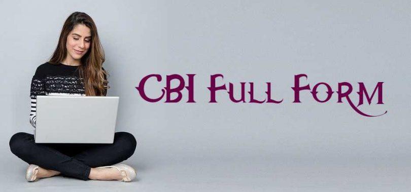 CBI Full Form
