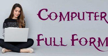 Computer Full Form
