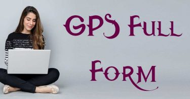 GPS Full Form IN HINDI