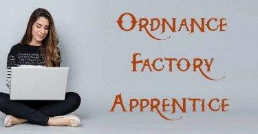 Ordnance Factory Apprentice
