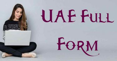 UAE Full Form