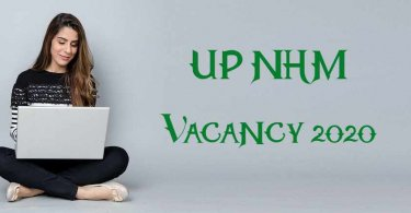 UP NHM Vacancy 2020