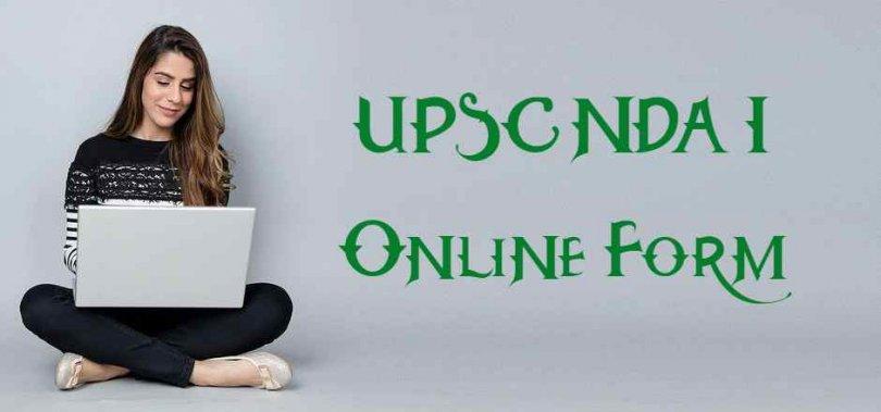 UPSC NDA I Online Form