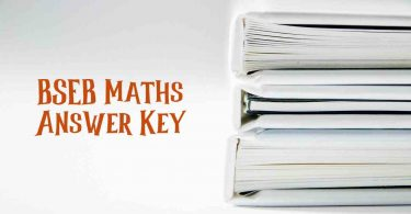 BSEB Maths Answer Key