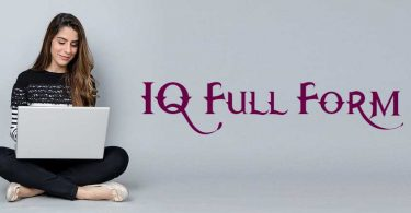 IQ Full Form IN HINDI
