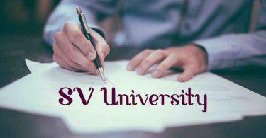 SV University