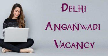Delhi Anganwadi Bharti