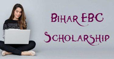 Bihar EBC Scholarship