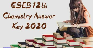 GSEB 12th Chemistry Answer Key 2020