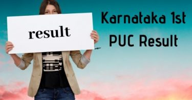 Karnataka 1st PUC Result