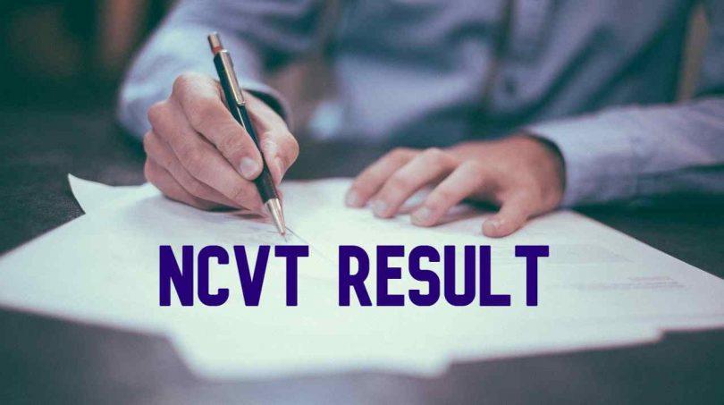 NCVT Result