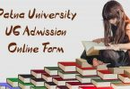Patna University UG Admission Online Form