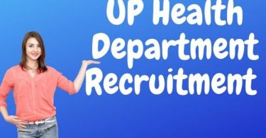 UP Health Department Recruitment