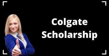 Colgate Scholarship