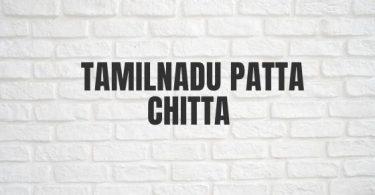 Tamilnadu Patta Chitta