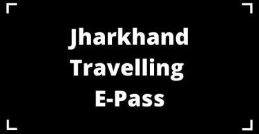 Jharkhand Travelling E-Pass