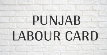 Punjab Labour Card