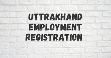 Uttrakhand Employment Registration